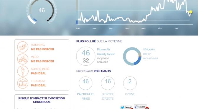 Pollution sur La Rochelle